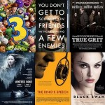 RANKING THE 2010 BEST PICTURE NOMINEES