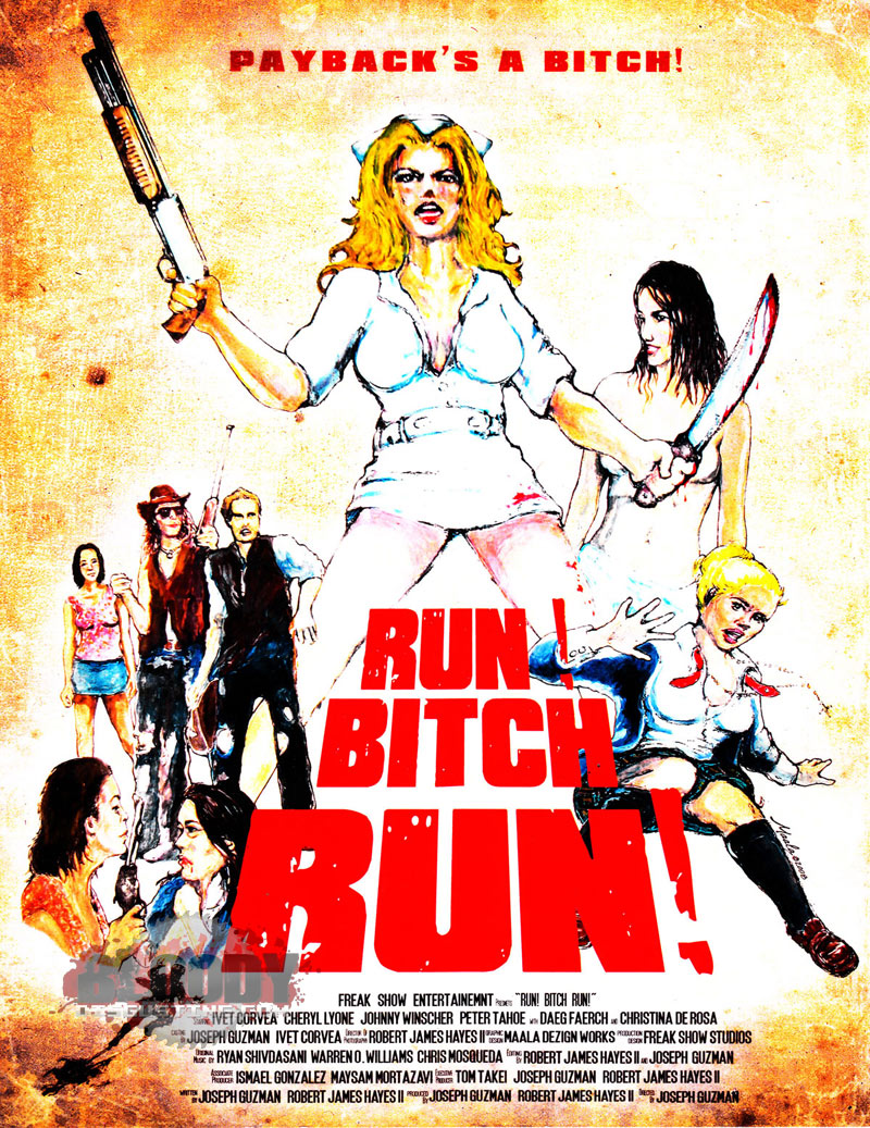 Run! Bitch Run [FRENCH BRRiP]