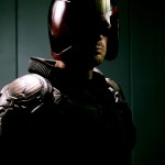 A NEW PICTURE OF KARL URBAN IN COSTUME AS JUDGE DREDD. LOOK AT IT.