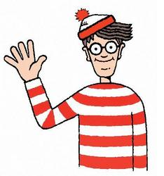 THERE'S A WHERE'S WALDO MOVIE COMING. SOMEBODY GET ME A DRINK.