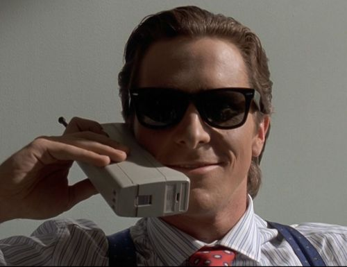 OF COURSE YOU WANT A NEW AND UPDATED REBOOT OF AMERICAN PSYCHO!