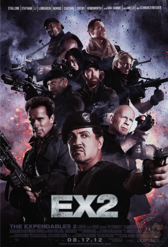 THE EXPENDABLES 2: FOR THE KIDS