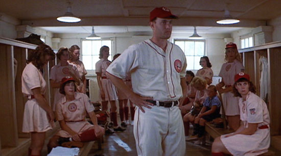 a film analysis of the movie a league of their own directed by penny marshall