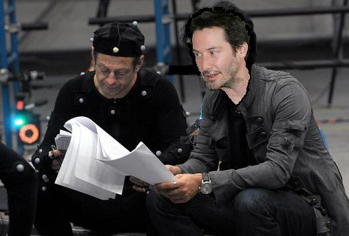 Man, I Love Films – ANDY SERKIS TO GIVE KEANU REEVES THE GIFT OF ...