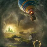 OZ THE GREAT AND POWERFUL POSTER DEBUTS