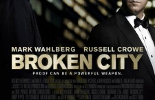 POSTER FOR BROKEN CITY FEATUERS CROWE, WAHLBERG