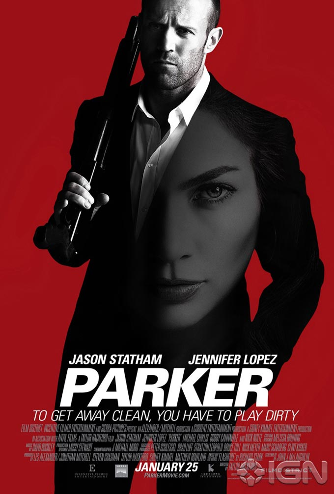 STATHAM'S LATEST IS PARKER