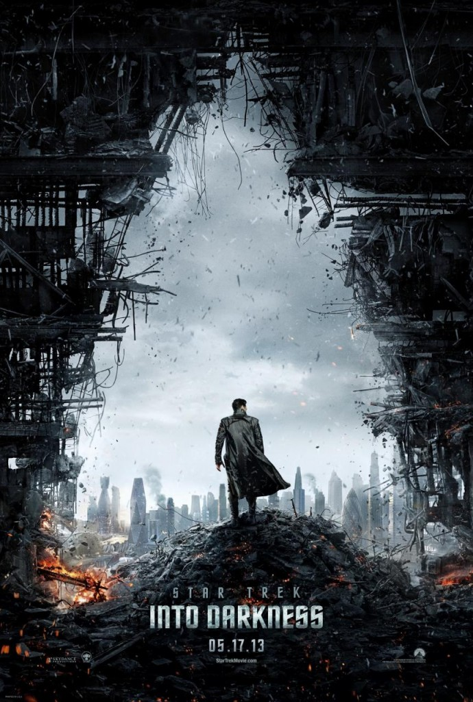 STAR TREK INTO DARKNESS POSTER!