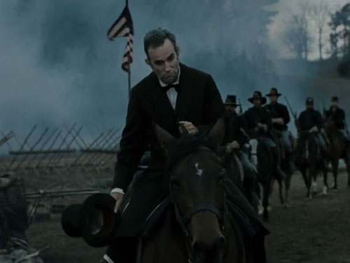 LINCOLN ON A HORSE