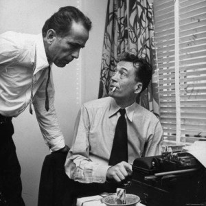 typewriter bogart john huston