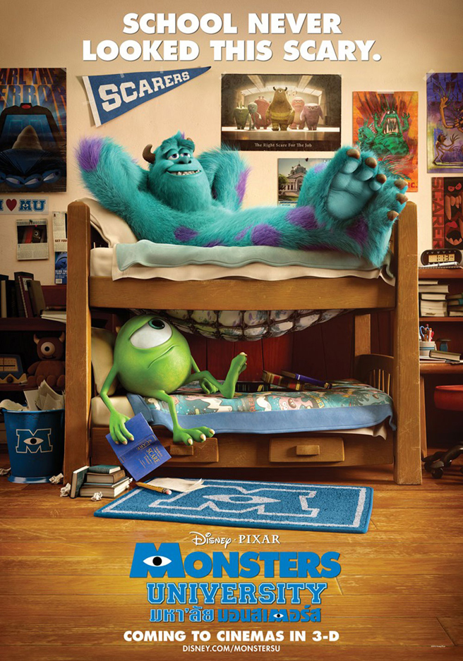 FULL MONSTERS UNIVERSITY TRAILER