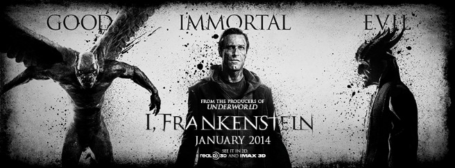 COMIC-CON: I FRANKENSTEIN DEBUTS NEW POSTERS