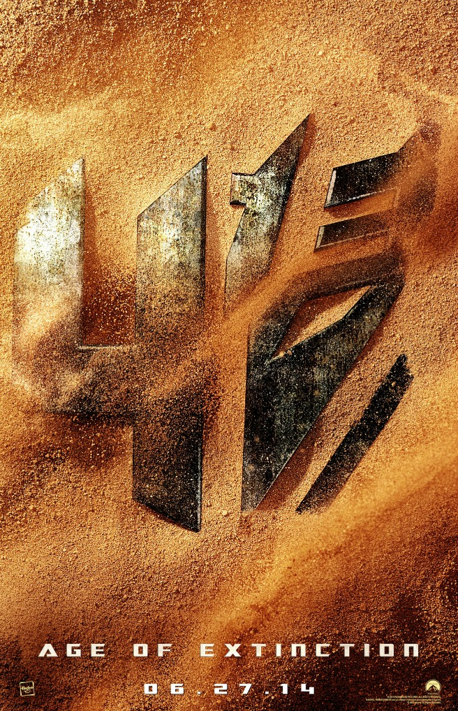 TRANSFORMERS 4 GETS SUBTITLE & POSTER