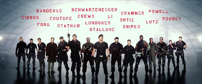 expendables 3 lineup