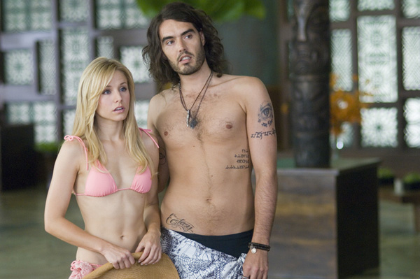 Forgetting Sarah Marshall movie image Kristen Bell and Russell Brand