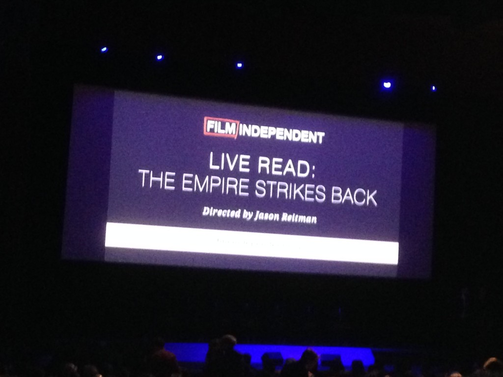 THE EMPIRE STRIKES BACK LIVE-READ