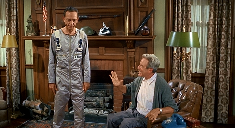 don knotts reluctant astronaut - photo #14