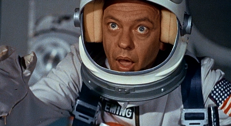 don knotts reluctant astronaut - photo #5
